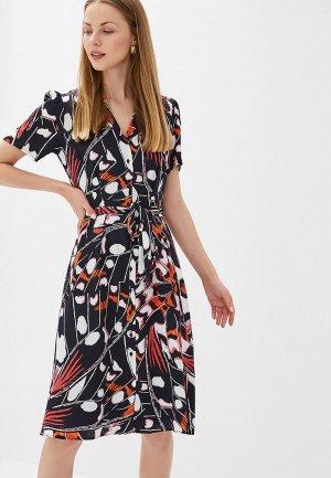 Платье Perspective. Цвет: разноцветный