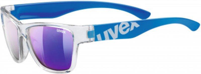 Солнцезащитные очки детские Sportstyle 508 Uvex. Цвет: синий
