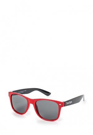 Очки солнцезащитные True Spin TR014DUSRQ16. Цвет: красный