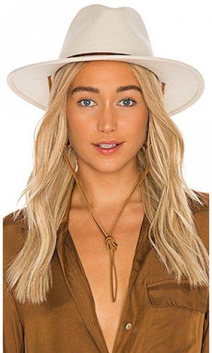 Шляпа field Brixton. Цвет: белый