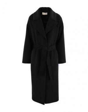 Пальто KAOS JEANS. Цвет: черный