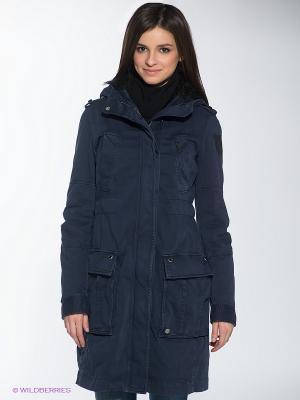 Пальто RARE. Цвет: синий
