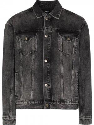 Джинсовая куртка Oh G Ksubi. Цвет: черный