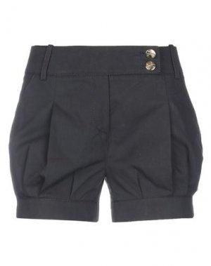 Повседневные шорты BETTY BLUE. Цвет: черный