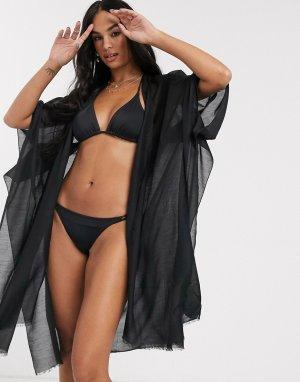 Черная туника -Черный Vero Moda
