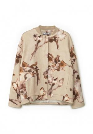 Куртка Mango - AQUA. Цвет: бежевый