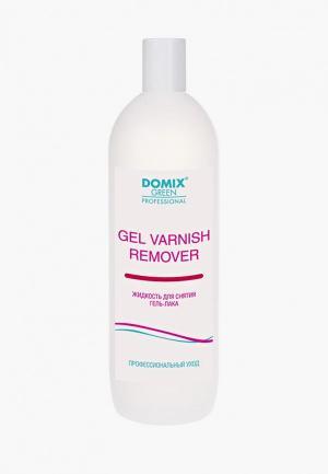 Средство для снятия гель-лака Domix GEL VARNISH REMOVER. Цвет: прозрачный