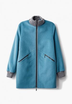 Пальто Smiths brand Smith's. Цвет: бирюзовый
