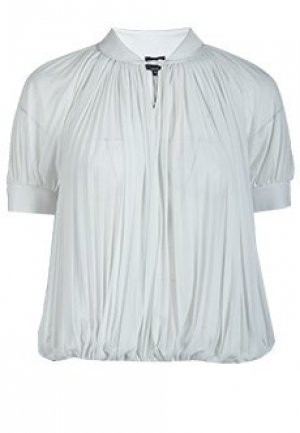 Блуза GIORGIO ARMANI. Цвет: белый