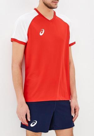 Костюм спортивный ASICS MAN VOLLEYBALL V-NECK SET. Цвет: разноцветный