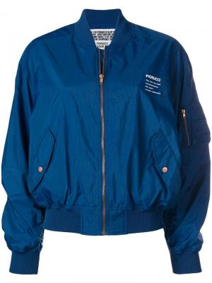 Lou bomber jacket Fiorucci. Цвет: синий