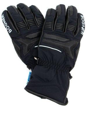 Перчатки горнолыжные BOGNER. Цвет: черный