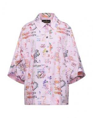 Pубашка VIVIENNE WESTWOOD ANGLOMANIA. Цвет: розовый