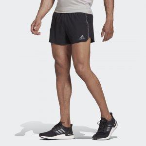 Шорты для бега Saturday Split Performance adidas. Цвет: черный