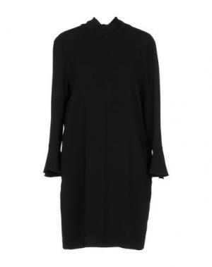 Короткое платье SPACE SIMONA CORSELLINI. Цвет: черный