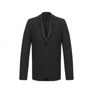Шерстяной пиджак Harris Wharf London. Цвет: серый