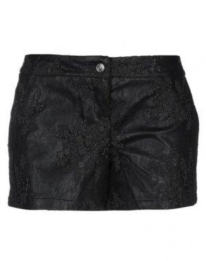Повседневные шорты BAD SPIRIT. Цвет: черный