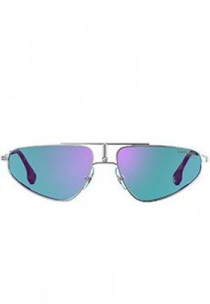 Солнцезащитные очки CARRERA. Цвет: голубой