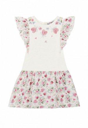 Платье Bell Bimbo. Цвет: бежевый