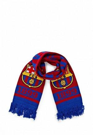 Шарф Atributika & Club™ FC Barcelona FC001GUASB21. Цвет: красный