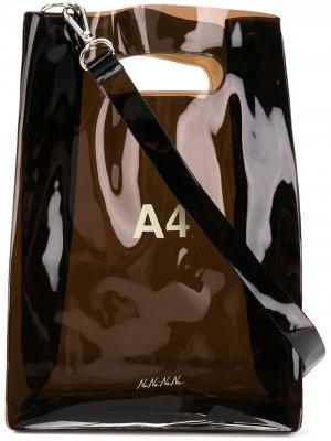 Сумка на плечо A4 Nana-Nana. Цвет: черный