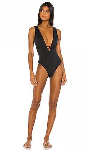 Слитный купальник cindy TAVIK Swimwear. Цвет: черный