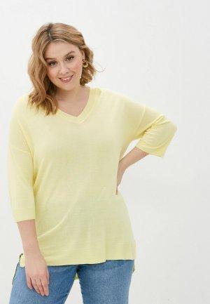 Пуловер Gerry Weber. Цвет: желтый