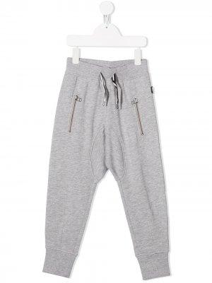 Спортивные брюки с низким шаговым швом Molo. Цвет: серый