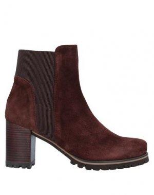 Полусапоги и высокие ботинки PEDRO MIRALLES. Цвет: какао