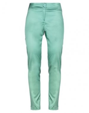 Повседневные брюки LIST. Цвет: зеленый