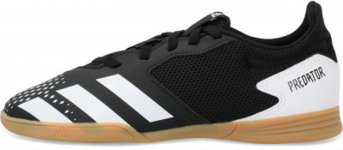 Бутсы для мальчиков adidas Predator 20.4 IN Sala J, размер 33. Цвет: черный