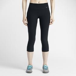Женские капри для тренинга Legend 2.0 Tight Poly Nike. Цвет: черный
