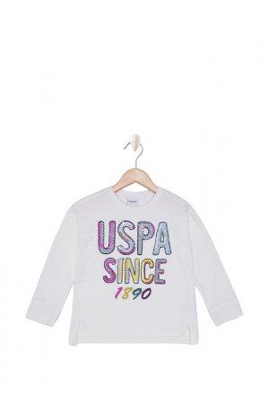 Свитшот U.S. Polo Assn.. Цвет: vr019 кремовый