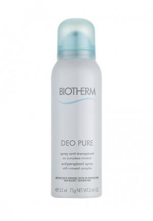Дезодорант Biotherm спрей без спирта DEO PURE125 мл