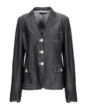 Пиджак ANTONIO FUSCO. Цвет: свинцово-серый
