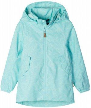 Куртка для девочек Galtby, размер 116 Reima. Цвет: зеленый