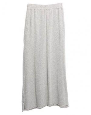 Длинная юбка AMERICAN VINTAGE. Цвет: серый