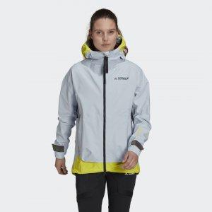 Дождевик Terrex MYSHELTER GORE-TEX Active adidas. Цвет: желтый