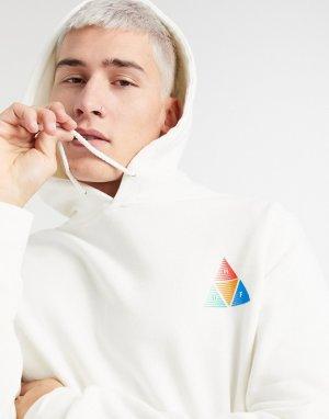 Кремовый пуловер с капюшоном Peak Sportif HUF