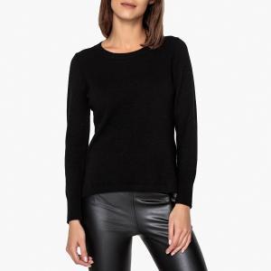 Пуловер из кашемира с круглым вырезом LA BRAND BOUTIQUE COLLECTION. Цвет: черный