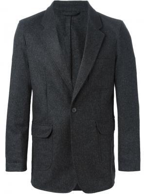 Классический пиджак E. Tautz. Цвет: серый