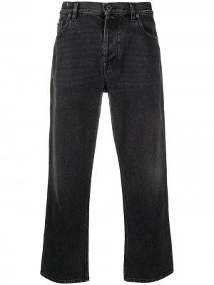 Прямые джинсы Valentino. Цвет: черный