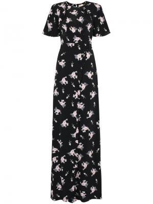 Платье макси с разрезом byTiMo