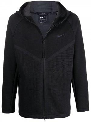 Худи Tech Pack Windrunner на молнии Nike. Цвет: черный