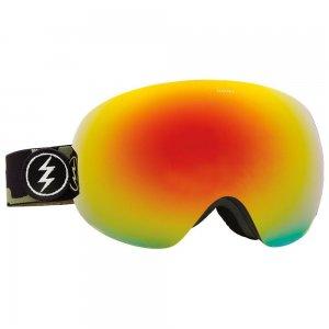 Маска сноубордическая EG3 Electric. Цвет: красный