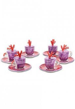Посуда ISAIA. Цвет: фиолетовый