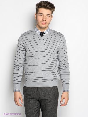 Пуловер Davani. Цвет: серый