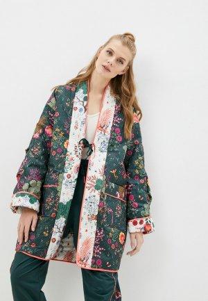 Куртка утепленная PUMA x LIBERTY Kimono. Цвет: разноцветный
