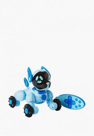Робот WowWee Собачка Чиппи. Цвет: голубой