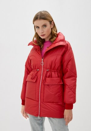 Куртка утепленная Marcella. Цвет: красный